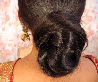 Silky and shining bun.