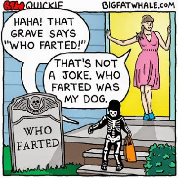 farted - stinky