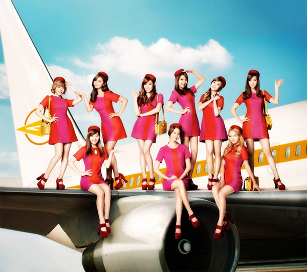 SNSD Girls Peace Deluxe
