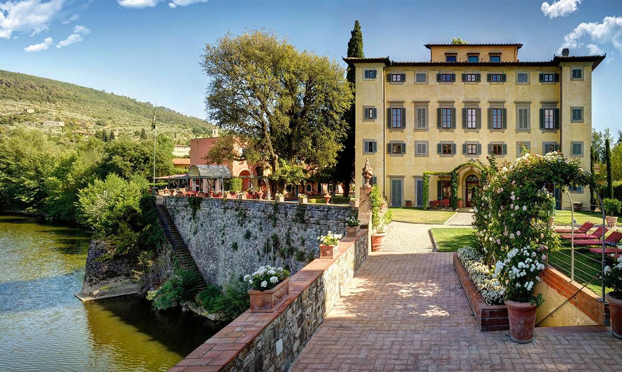 Villa la massa florence luxury 4 7 hotel for I c bagno a ripoli capoluogo
