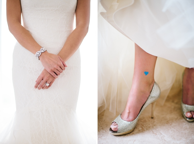 "beautiful bridal details jewelry and silver jimmy chop shoes bride's ""something blue"""