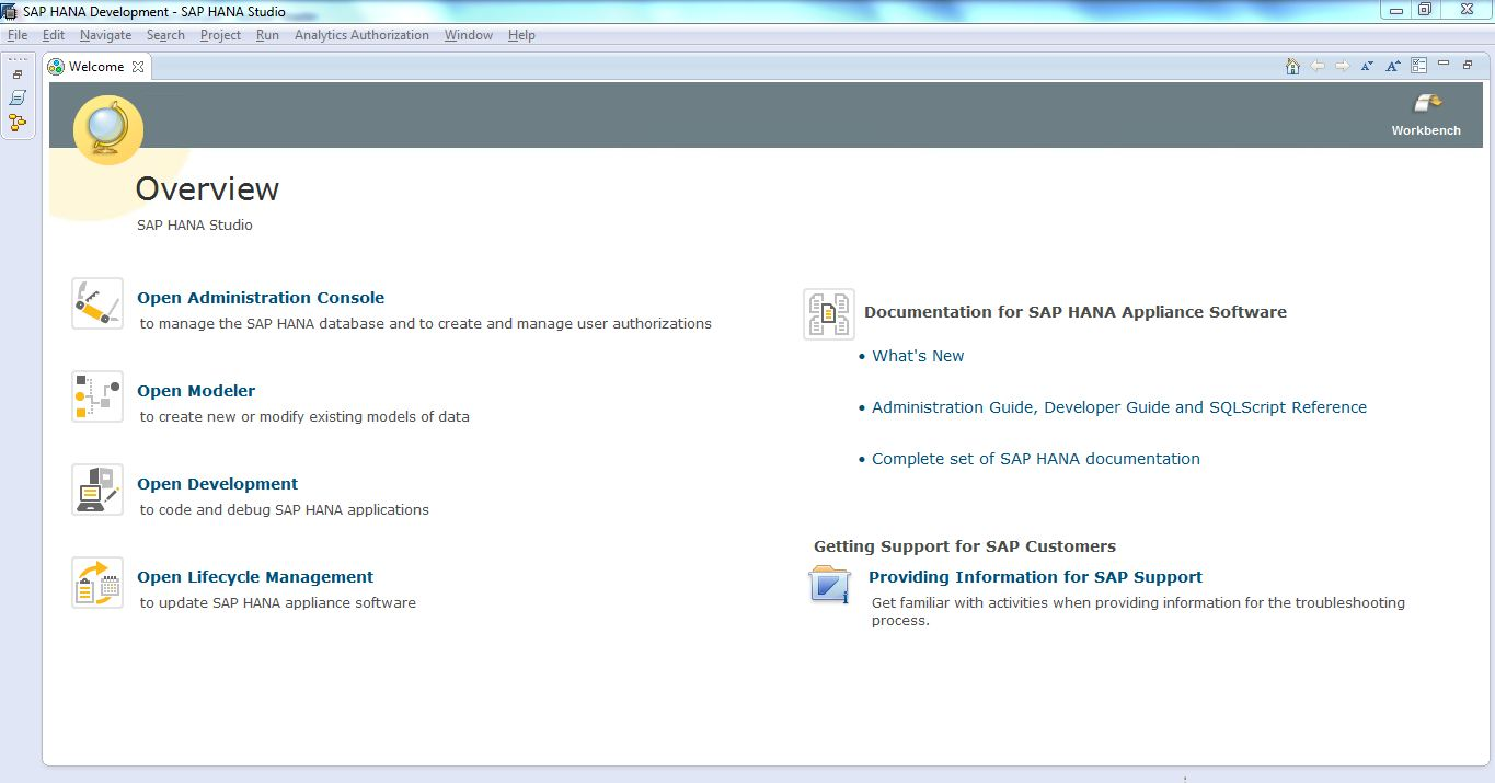 Sap hana tutorial material and certification guide the sap hana studio can be used by variety of users like baditri Image collections