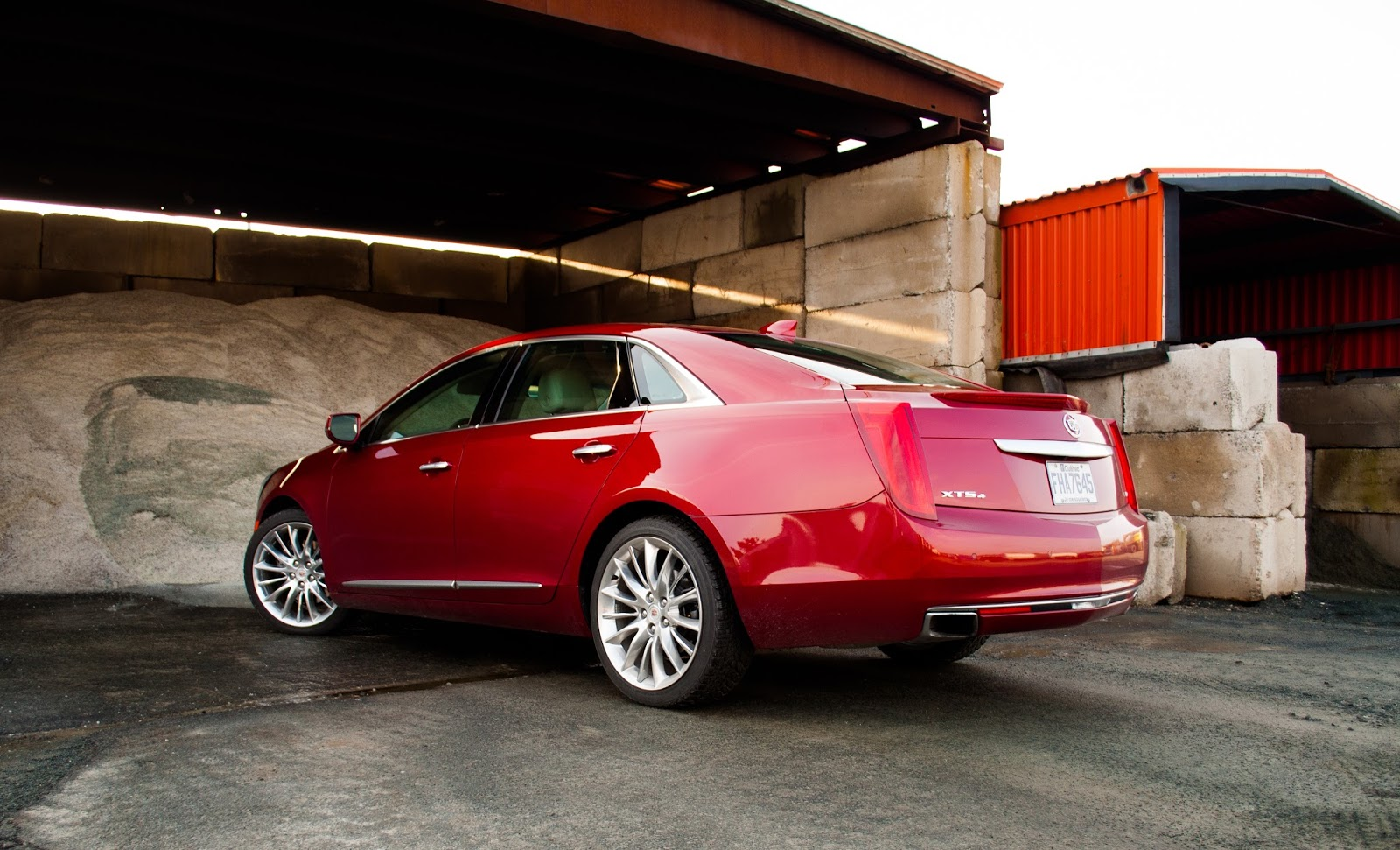 2015 Cadillac XTS Vsport rear
