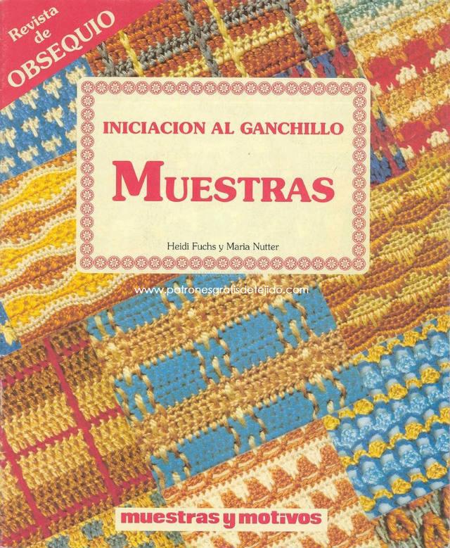 Libro gratis de patrones de puntos crochet y puntillas