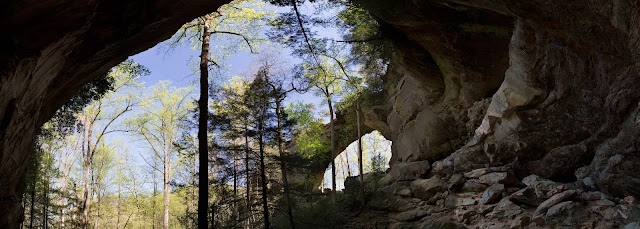 Gray's Arch at Red River Gorge in Kentucky