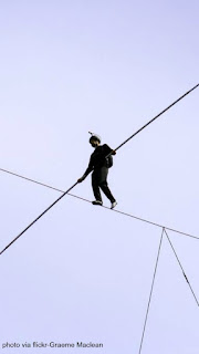 skywire, nik wallenda, discovery channel, the man who walked between the towers