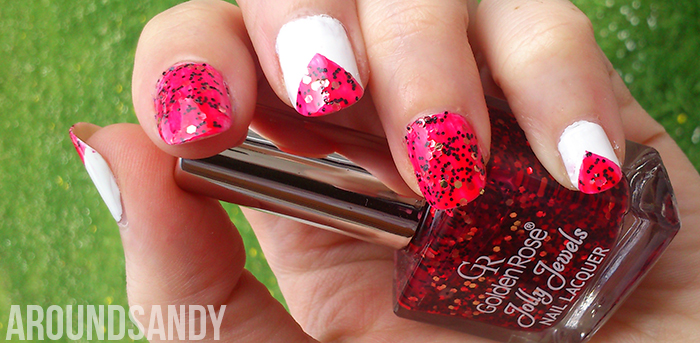 Nail Art con Golden Rose Jolly Jewels 116
