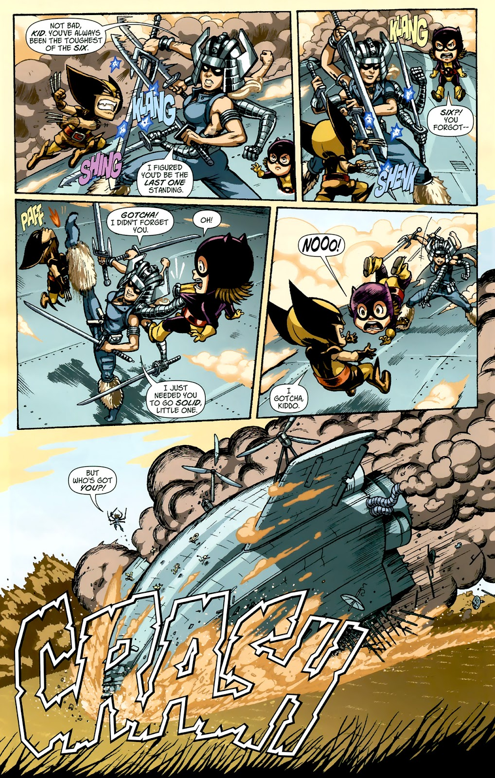 Read online X-Babies comic -  Issue #1 - 20
