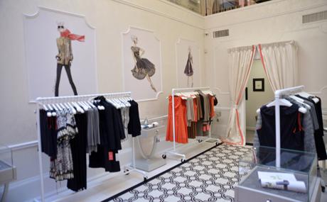 Ivanka trump boutique interiores por paulina aguirre for Disenos para boutique