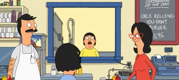 Every week, Bob's Burgers breaks ground as the first piece of food porn that's descriptive food porn rather than visual.