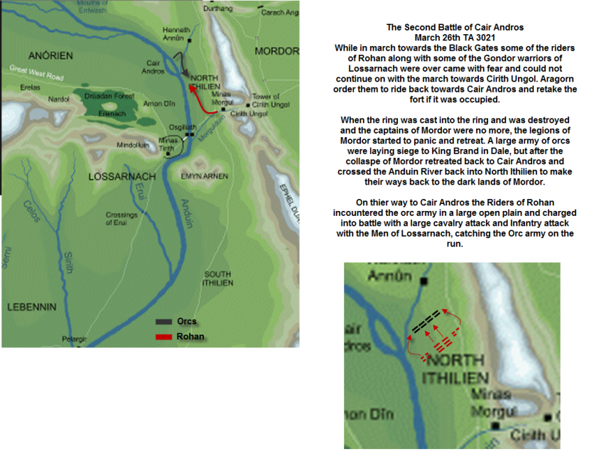 Tides Of War The 2nd Battle Of Cair Andros March 26th Ta