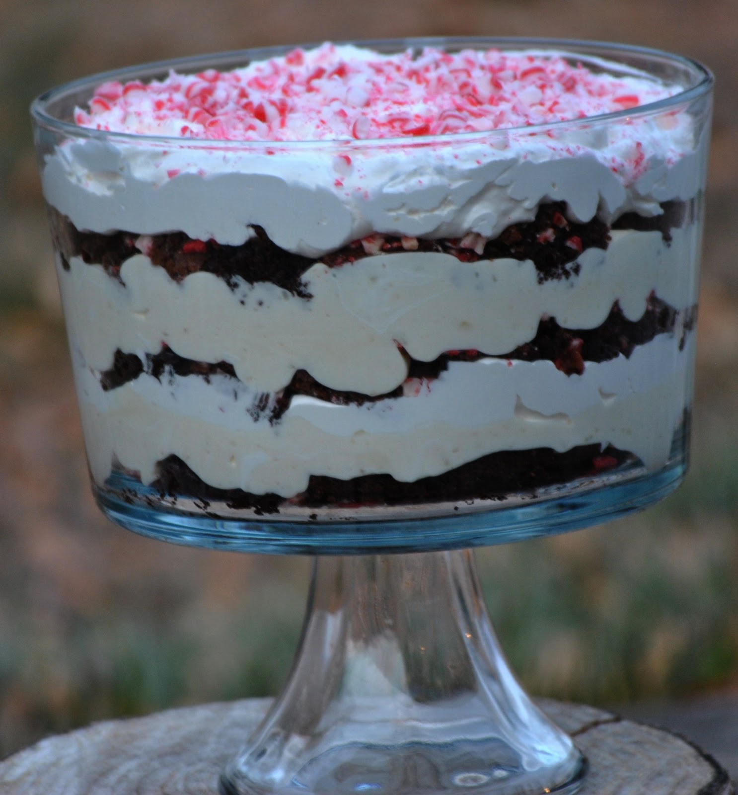 ... trifle with spiced pears peppermint white hot chocolate peppermint