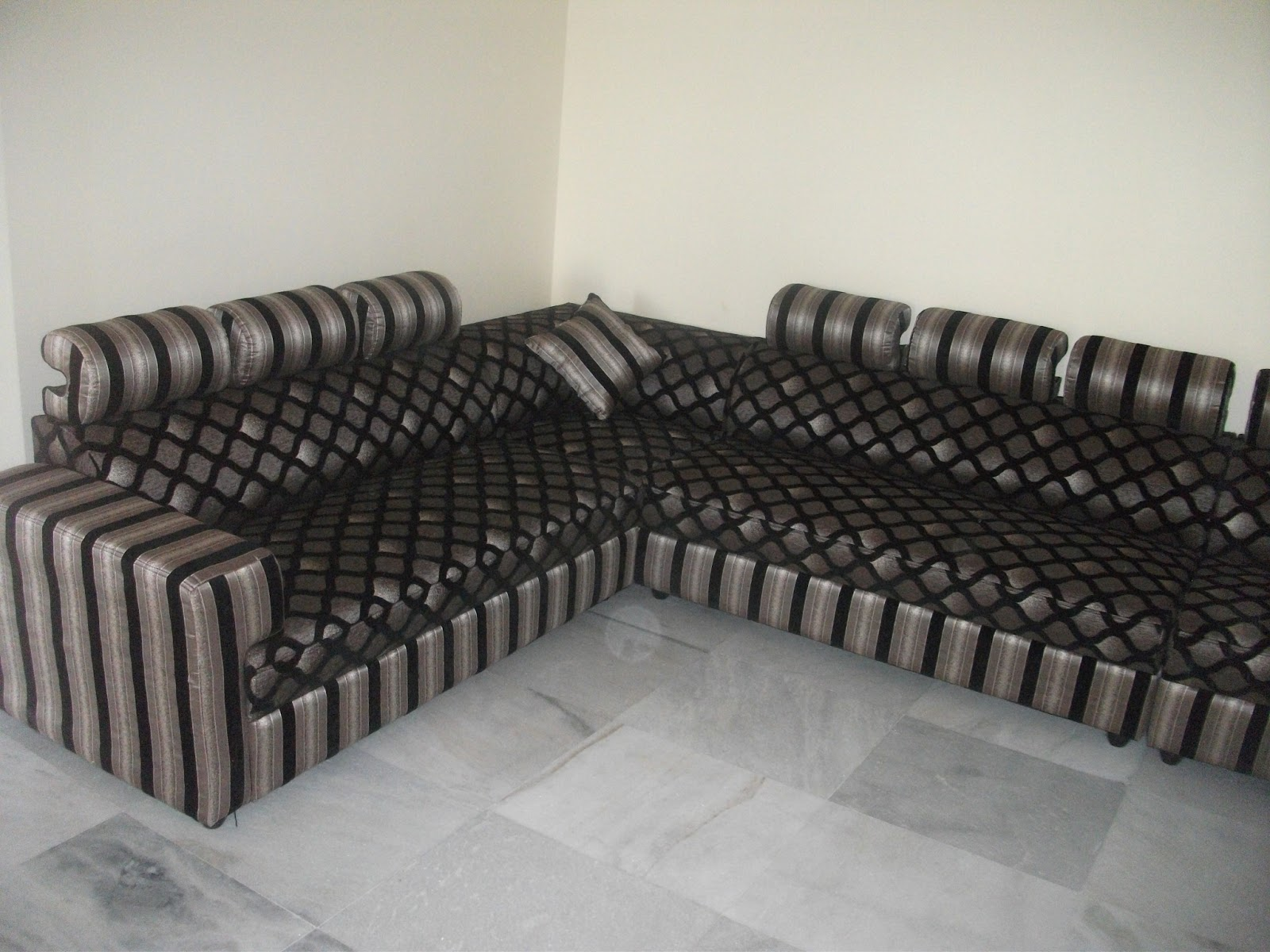 Brand New L Shape Sofa Set Only 24000 Look At The Quality And Designs