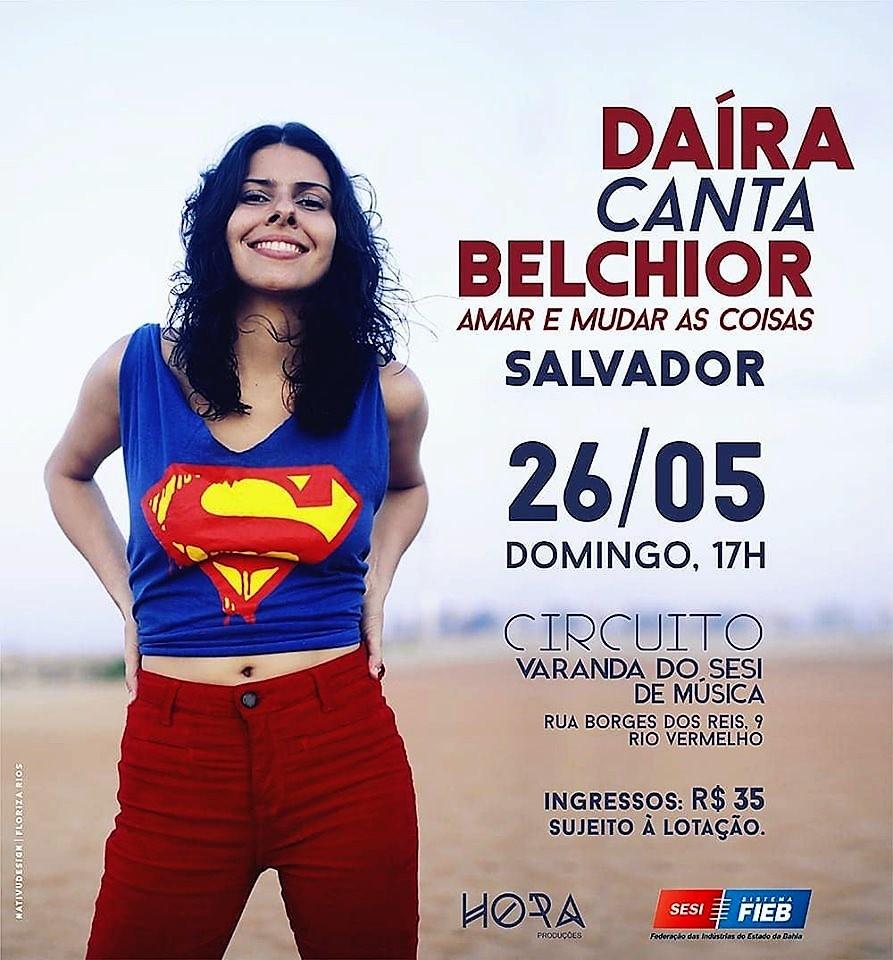 26 de maio, 17h: Salvador