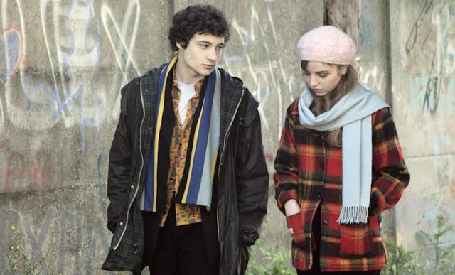 Paul (Quentin Dolmaire) et Esther (Lou Roy Lecollinet) dans Trois Souvenirs de ma jeunesse, d'Arnaud Desplechin (2015)