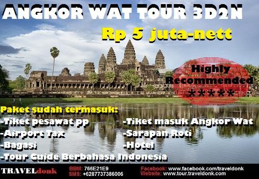 Paket Tur ke Angkor Wat Kamboja