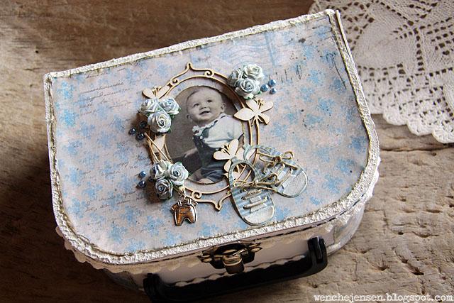 gave til nyfødt guttebaby