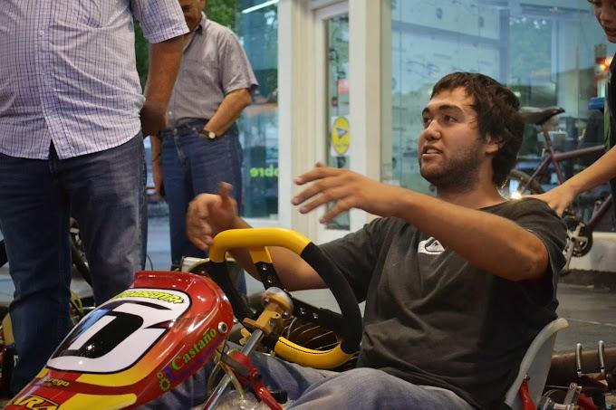 Juan Rosconi asciende en el Kart Regional