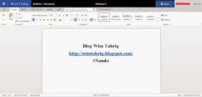 Cara Akses dan Menggunakan Microsoft Office Online