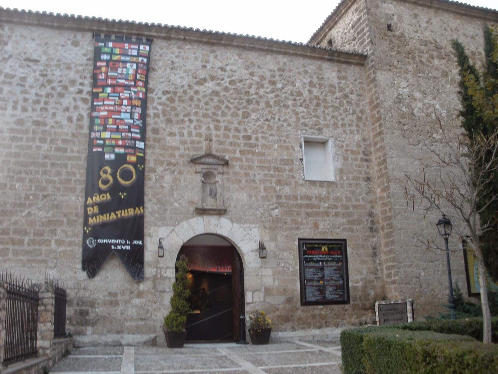 El Convento de San José, actualmente convertido en el Museo de Miniaturas del Profesor Max.