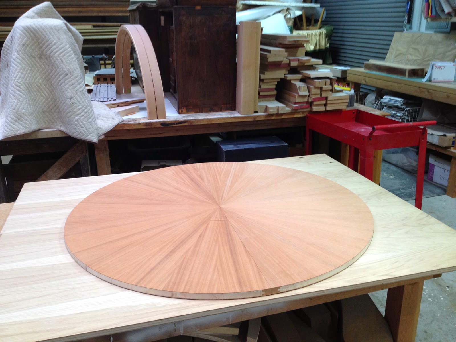 Biedermeier/30's Dining Room Table #3: - Almost done