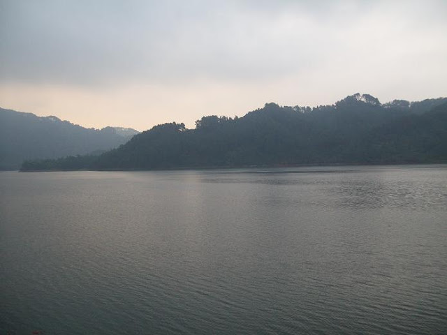 Sempor Reservoir at dusk