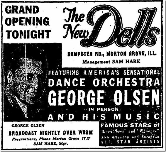 George Olsen's Music George Olsen And His Music It Happened In Monterey - The Song Of The Dawn