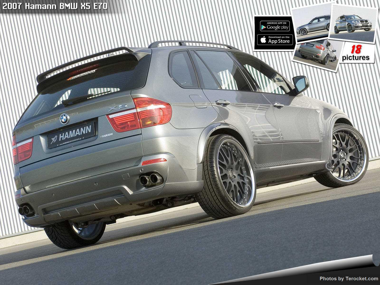 Hình ảnh xe ô tô Hamann BMW X5 E70 2007 & nội ngoại thất