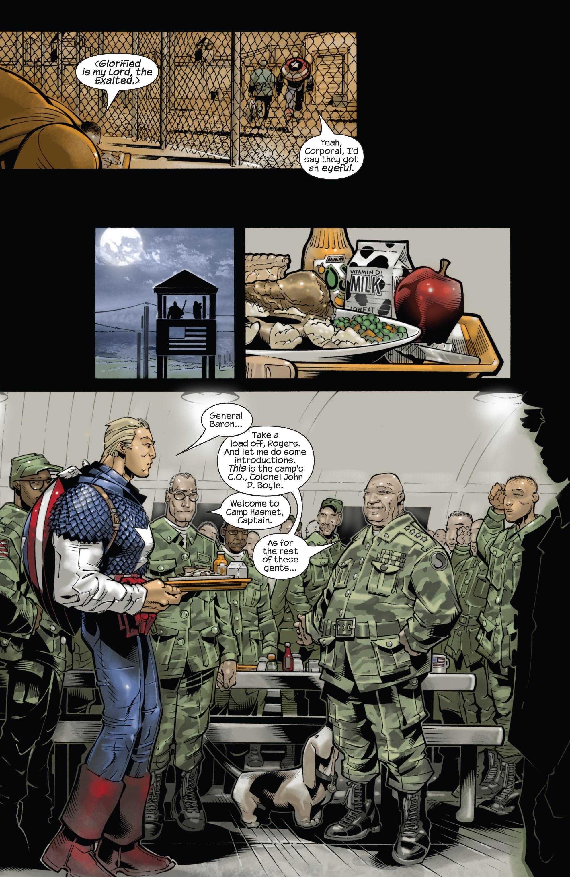 Captain America (2002) Issue #22 #23 - English 12