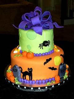 Halloween Spooky Cakes