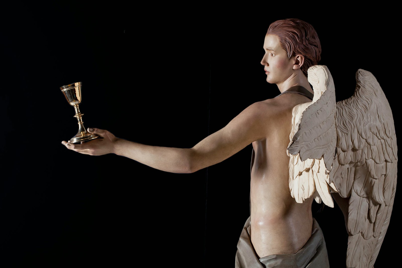 Ángel Semana Santa Tobarra escultura 7