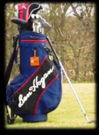 What's in my Bag (click on my bag to visit Ben Hogan Golf Company)