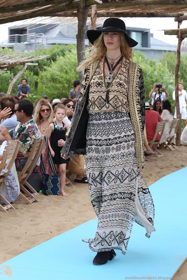 Maxi faldas, Maxi vestidos otoño invierno 2016 Rapsodia. Moda invierno 2016.