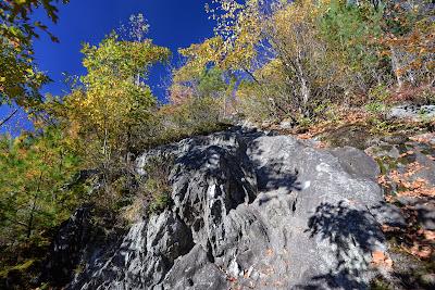 the steep trail up the southwest ridge of Mt. Negus