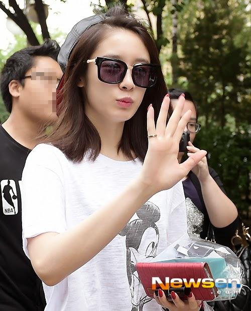 Music Bank arrival Jiyeon