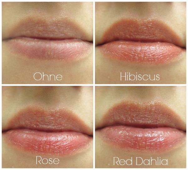Burt´s Bees Tinted Lip Balm Lippen Swatch