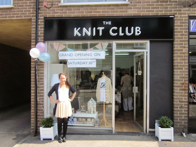 Knitting Club London : The millamia out and about knit club caterham