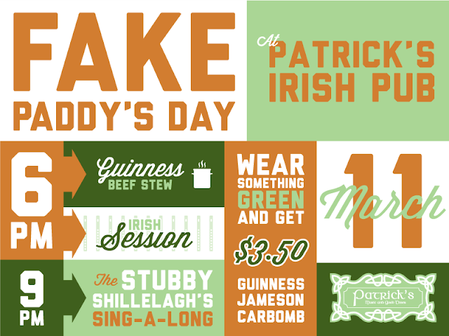 Patrick's Fake Paddy's Day