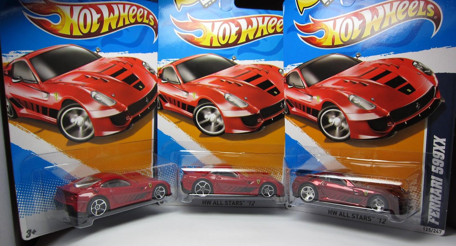 The lamley group variation alert hot wheels ferrari 599xx with oh5