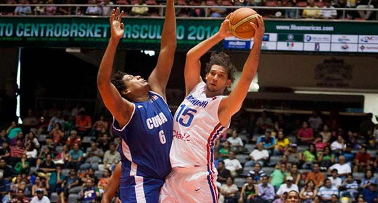 Republica Dominicana-Cuba-Centrobasket