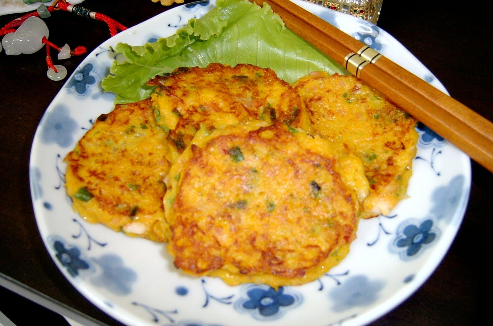 Through The Kitchen Door: Korean Potato Pancakes