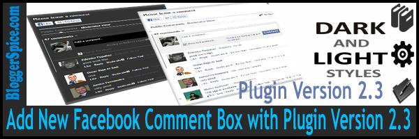 Facebook comment plugins 2015