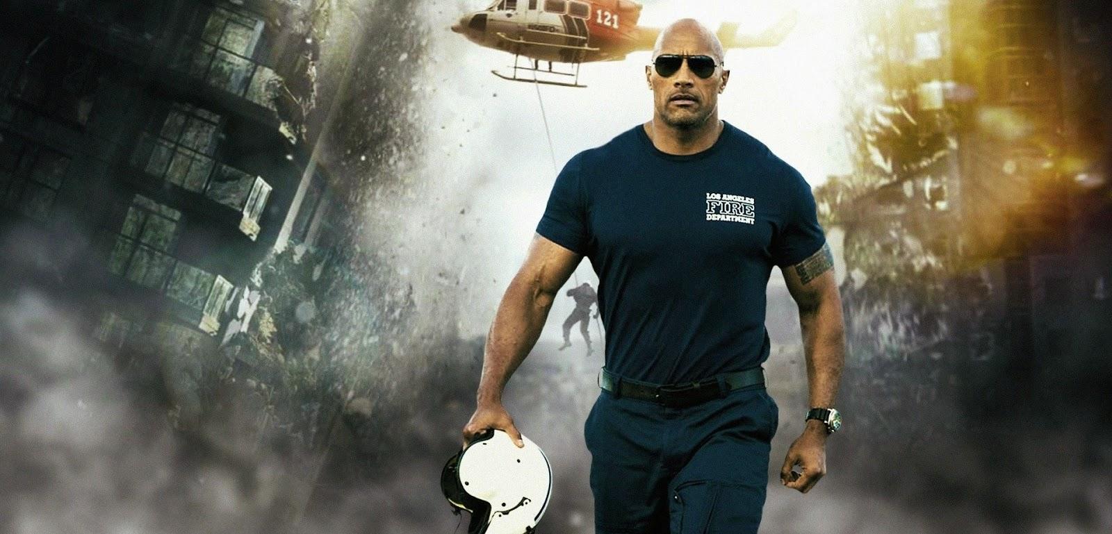 Confira o segundo trailer legendado de Terremoto: A Falha de San Andreas, com Dwayne Johnson