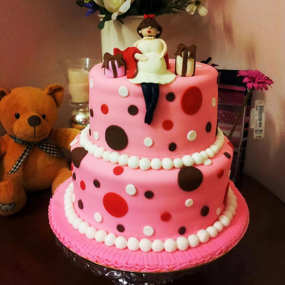 Fasha Baby SHower Cake