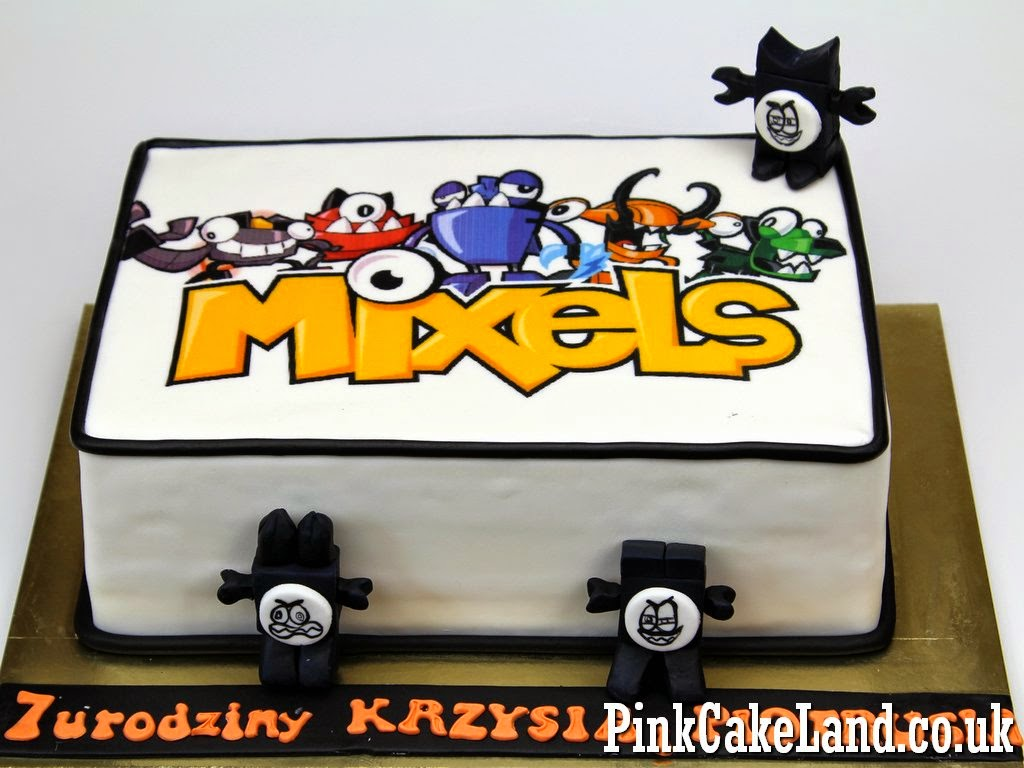 Mixels Birthday Cake - London Cakes