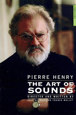 Pierre Henry en la portada del DVD The Art Of Sounds de Eric Darmon y Franck Mallet