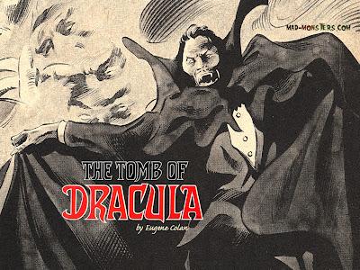 Cartel de la Tumba de Drácula por Gene Colan