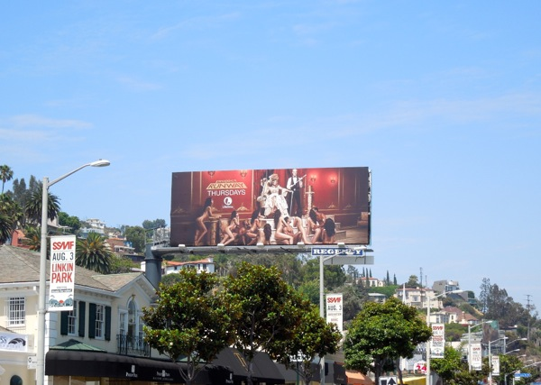 Project Runway 12 billboard sunset strip