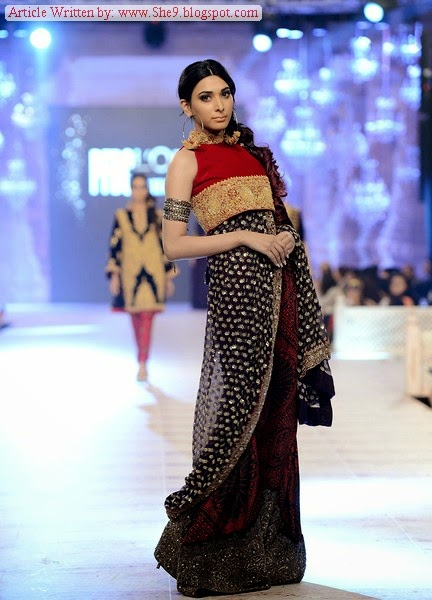 PFDC Bridal Week 2014-2015 Presents SANA SAFINAZ
