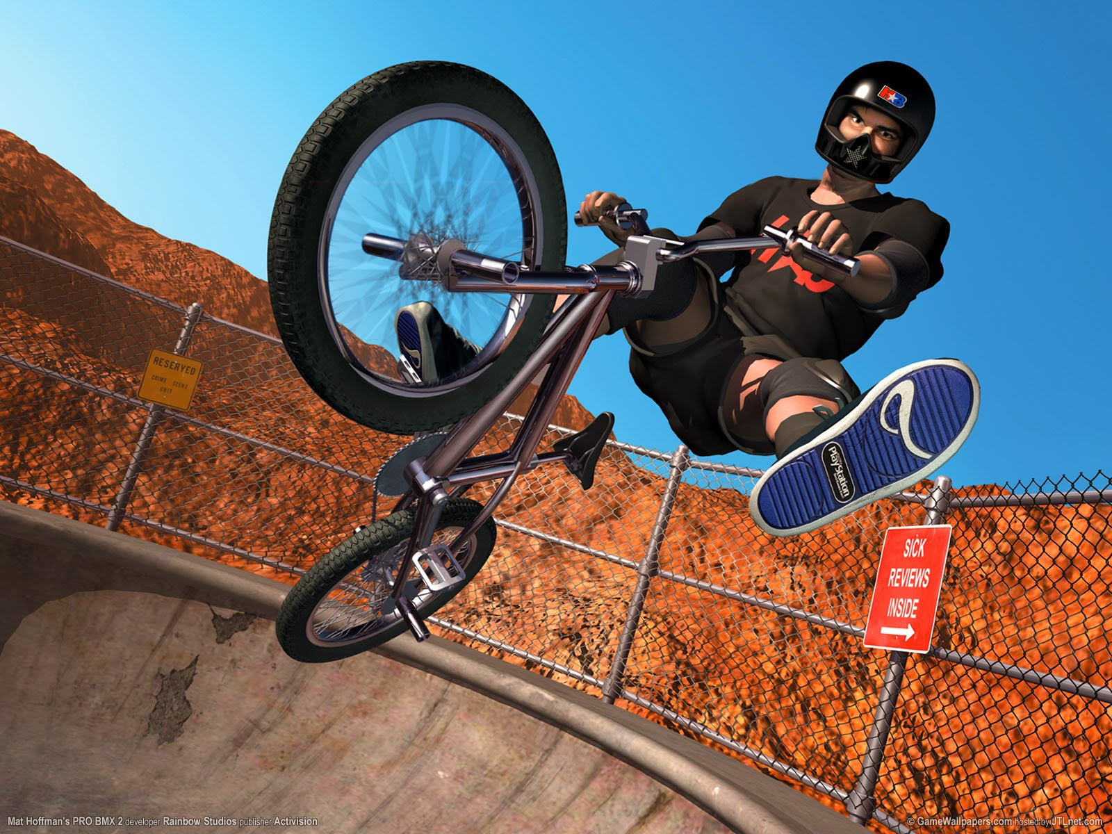 bmx and girl wallpaper - photo #30
